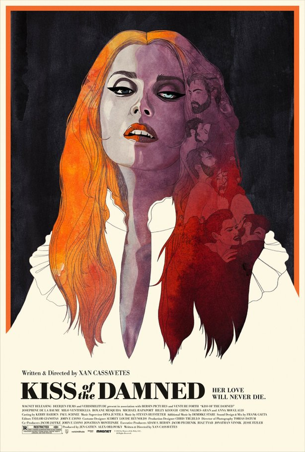 """Kiss of the Damned"" poster art."