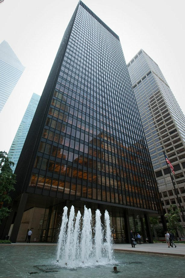 Seagram Building: Mies van der Rohe's tower on Park Avenue ...