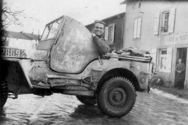 Ghost Army soldier Bill Blass, who served in the unit and...