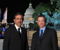 Actors Joe Mantegna and Gary Sinise co-host the 2013