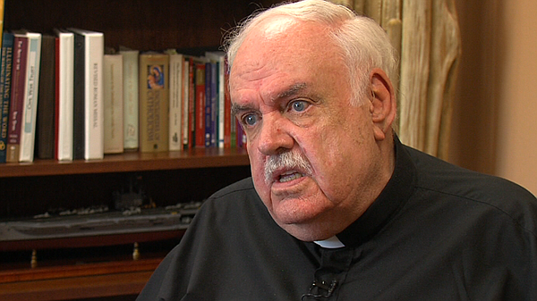 Father Ron Hebert, the leader of Sacred Heart Parish, said he didn't realize ...