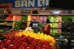 Host Su-Mei Yu (right) heads to Hillcrest's Whole Foods Market to discover ho...