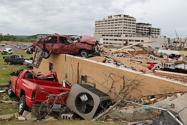 The 2011 Joplin tornado was a EF5 multiple-vortex tornado that struck Joplin,...