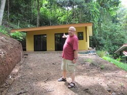 Bill Peace sees his new home in Costa Rica for the first time. He moves in ne...