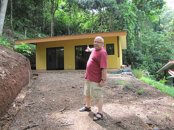 Bill Peace sees his new home in Costa Rica for the first ...