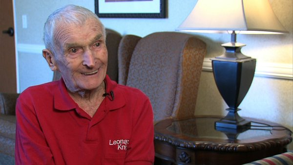 Leonard Knight, 81, now lives at the El Dorado Care Cente...