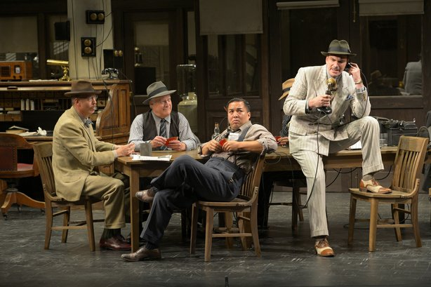 "The La Jolla Playhouse opens its 2013-14 season with ""His Girl Friday,"" writt..."
