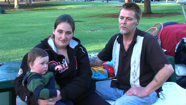 The Riddle family is homeless and waiting to get into a long-term shelter at ...
