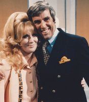 "Songstress Dusty Springfield and composer Burt Bacharach together perform ""A House Is Not a Home."""