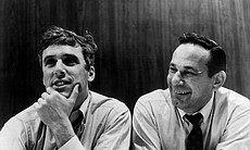 Burt Bacharach with lyricist Hal David. (26701)