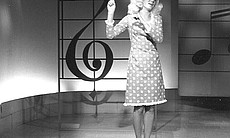 "Singer Jackie DeShannon performs her hit rendition of the Burt Bacharach-Hal David anthem ""What the World Needs Now Is Love."""