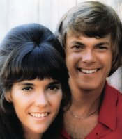 "The Carpenters, Karen and Richard, sing their #1 hit from 1970, ""(They Long to Be) Close to You."""