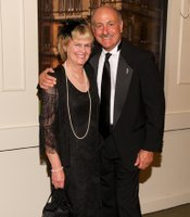 Gala guests Elisa and Steve Cusato, VP at City National Bank.