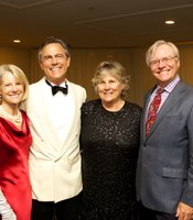 Gala guests:  Catherine and Phil Blair with Lynn and Charles Gaylord.
