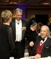 KPBS General Manager with Hall of Fame Inductee and MASTERPIECE Trust donor, Conrad Prebys