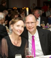 Gala guests Britt Nesheim and Klaus Schuegraf of CYMER