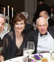 KPBS General Manager Tom Karlo and his wife Julie Karlo with Dr. Robert Engler and Julie Ruedi.