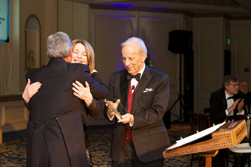 Conrad Prebys and Debbie Turner were honored as Visionaries in the KPBS Hall ...