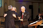 Conrad Prebys and Debbie Turner were honored as Visionaries in the KPBS Hall of Fame for the support of MASTERPIECE.  