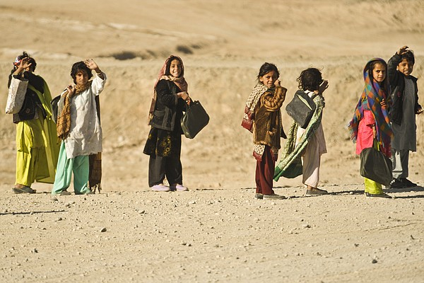 The children of Afghanistan, 2010.