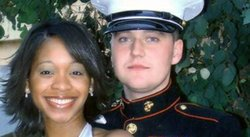 Quiana Jenkins-Pietrzak and Sgt. Jan Pietrzak