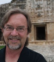 George Bey, professor of Anthropology at Millsaps College, conducts research at Kiuic.