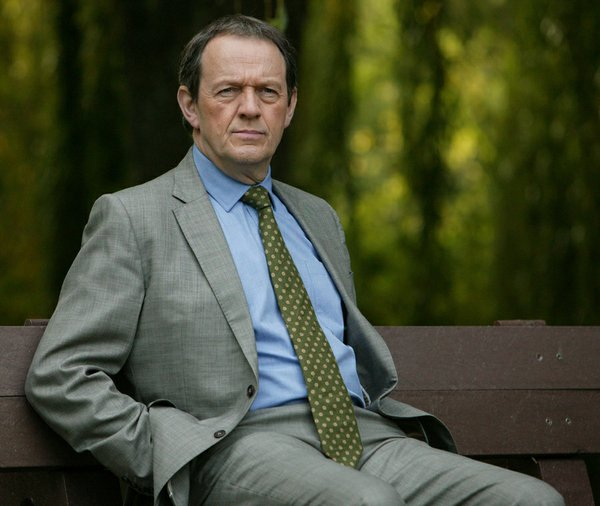 Kevin Whately as Inspector Lewis. Kevin Whately and Laure...