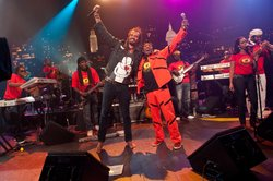 Jimmy Cliff and his band with special guest Michael Franti.