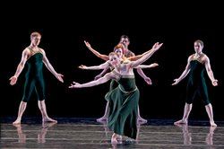 "Paul Taylor Dance Company in ""Brandenburgs."""