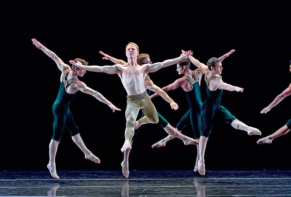 Paul Taylor Dance Company: Sean Mahoney, Michael Trusnovec, James Samson, Mic...