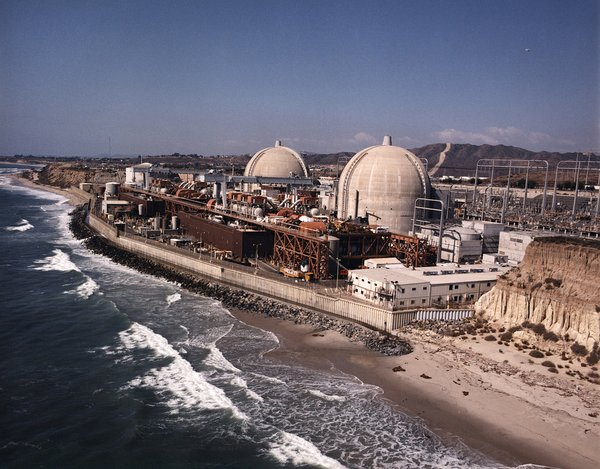 The San Onofre Nuclear Generating Station in northern San...