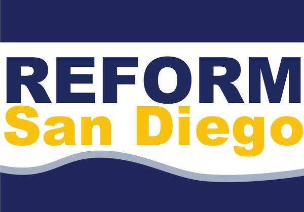 A Reform San Diego banner from DeMaio's website.