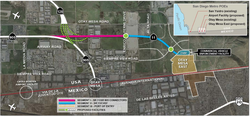 The planned Otay Mesa II Port of Entry would charge users a toll depending on...