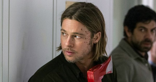 Gerry Lane (Brad Pitt) carries a perfectly awesome zombie smashing tool throu...