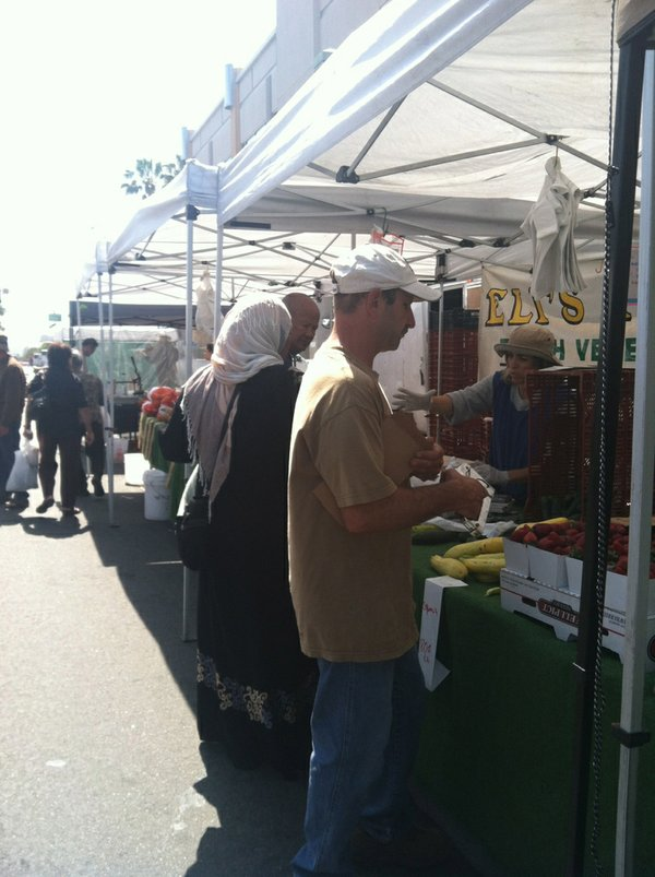 Farmer Eli Hofshi is a longtime vendor at the City Height...