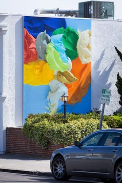 The project includes a mural by local artist Richard Allen Morris. It's calle...