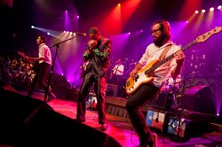 "Black Joe Lewis & the Honeybears rock their bluesy soul nuggets from ""Scandalous."""