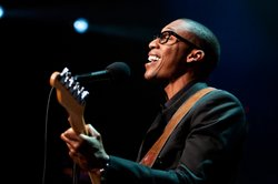 "Saadiq highlights songs from his old-school soul LP ""Stone Rollin'."""