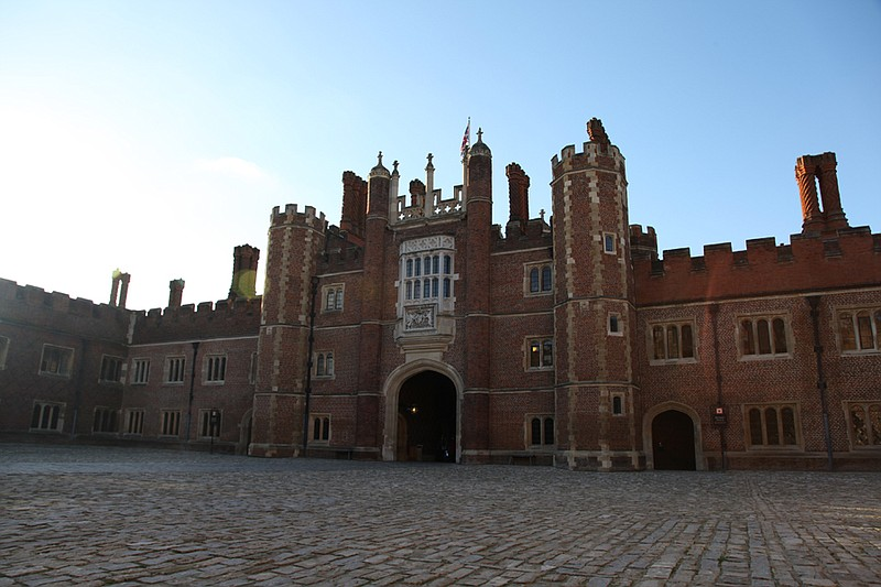 Base Court, Hampton Court.
