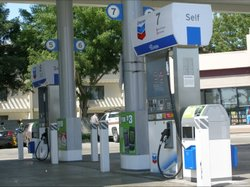 The price at the pump goes up Monday in California.
