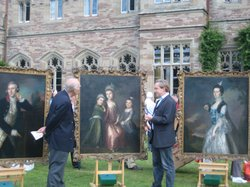 Philip Mould examines three large portraits by Blackburn.