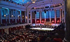 This lavish gala concert was taped before an enthusiastic audience at the world-famous Konzerthaus in Vienna, Austria.