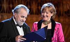 "Academy Award-winning actor and Vienna native Maximilian Schell and world-famous mezzo-soprano Frederica von Stade host ""A Salute To Vienna."""