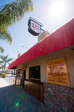 The 1st Street Bar in Encinitas.