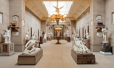 Chatsworth house in Derbyshire has been home to the Dukes of Devonshire for more than 500 years. Today, the 12th Duke resides over the 175-room mansion and an invaluable art collection (pictured).