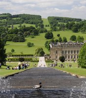The grounds at Chatsworth were designed by visionary gardener and architect Joseph Paxton who created an elaborate water system to power one of the highest fountains of the 1800s.