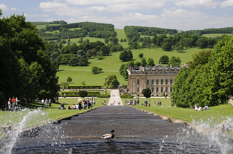 The grounds at Chatsworth were designed by visi... ()