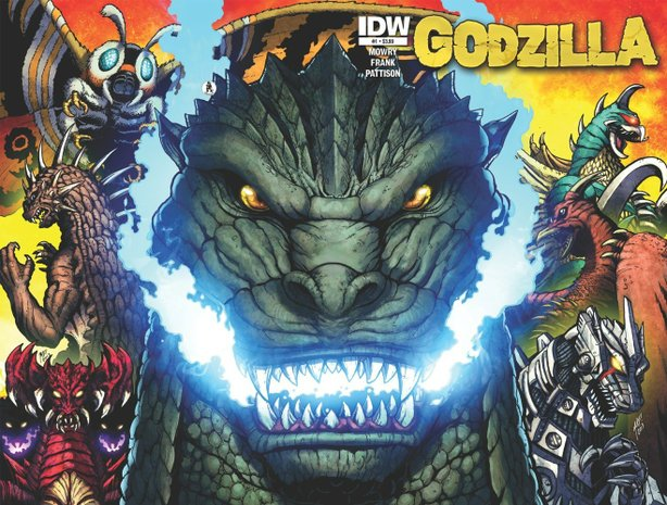 IDW has a line of Godzilla comics.