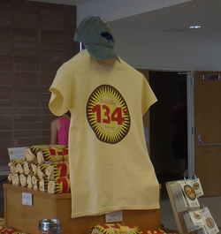 On the 100th anniversary of Death Valley's heat record, t-shirts with blazing...