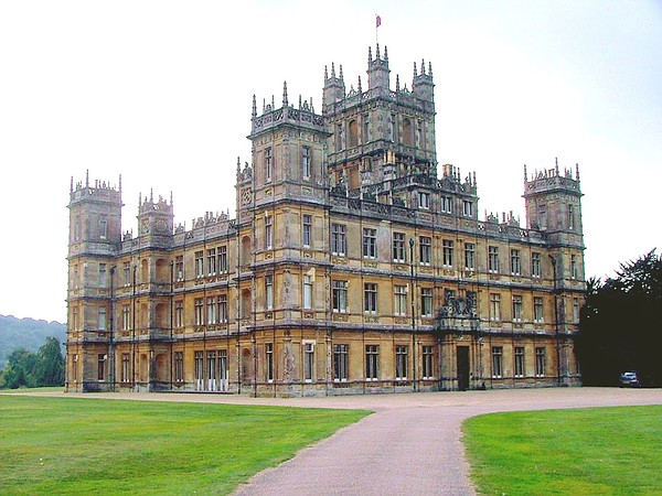 Highclere castle, home to the Canarvon family for the las...